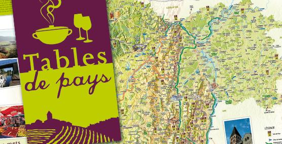 Les Tables de Pays : développement gourmand - Saône-et-Loire